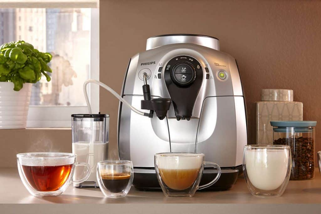 Philips Series 2100 Easy Cappuccino coffee machine