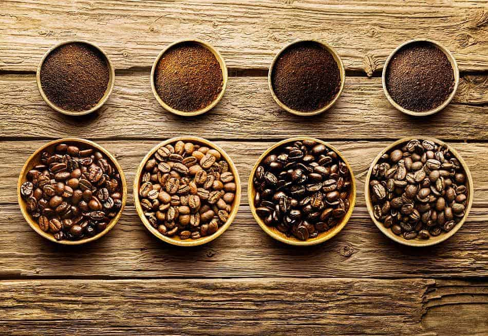 Different Types of Coffee Roasting